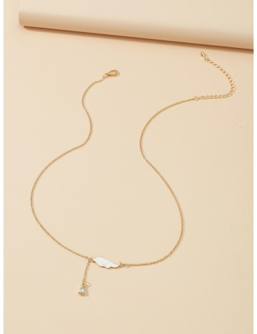 Wing Detail Necklace